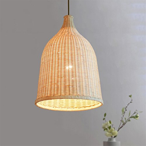 Rattan Pendant Light Handmade Basket Lamp