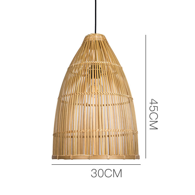 Dinning Room Bamboo Hanging Lamp Shades