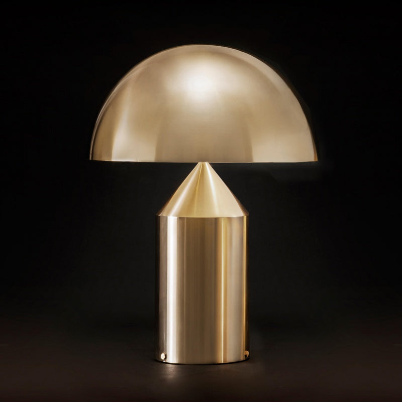 Creative Metal Mushroom Table Lamp