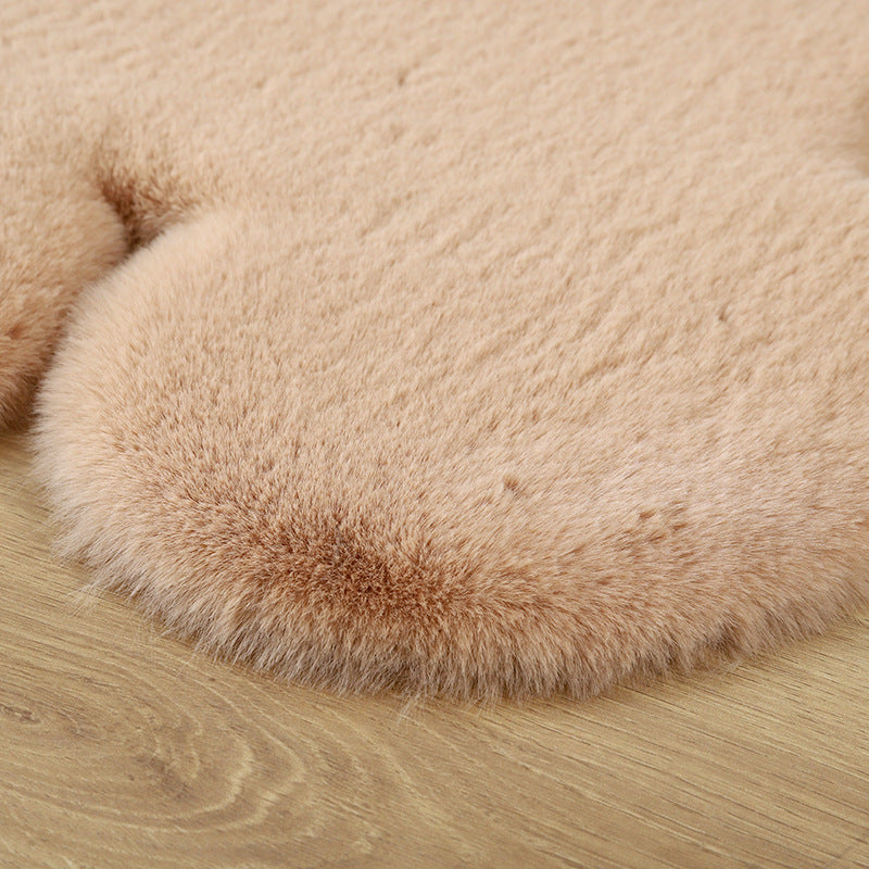 Soft Plush Bear Carpet For Living Room Shaggy Home Floor Mat