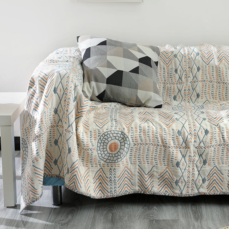 Bohemia Sofa Cover Cotton Throw Blanket for Bed