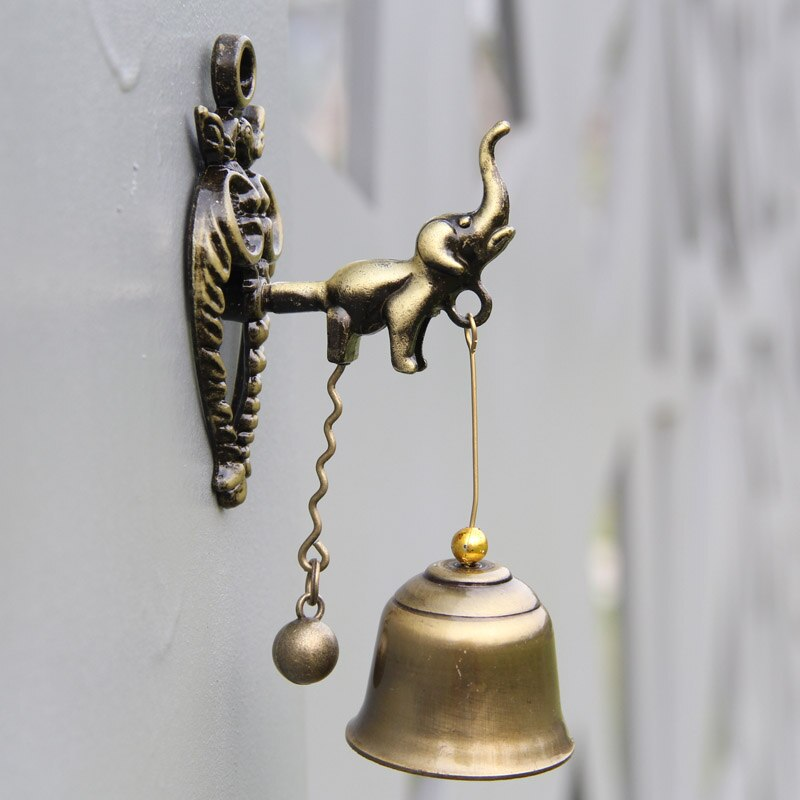 Animal Metal Doorbell Wind Bell Metal Wall Hanging Decorations