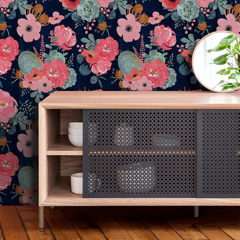 Modern Floral Wallpaper For Home Decor