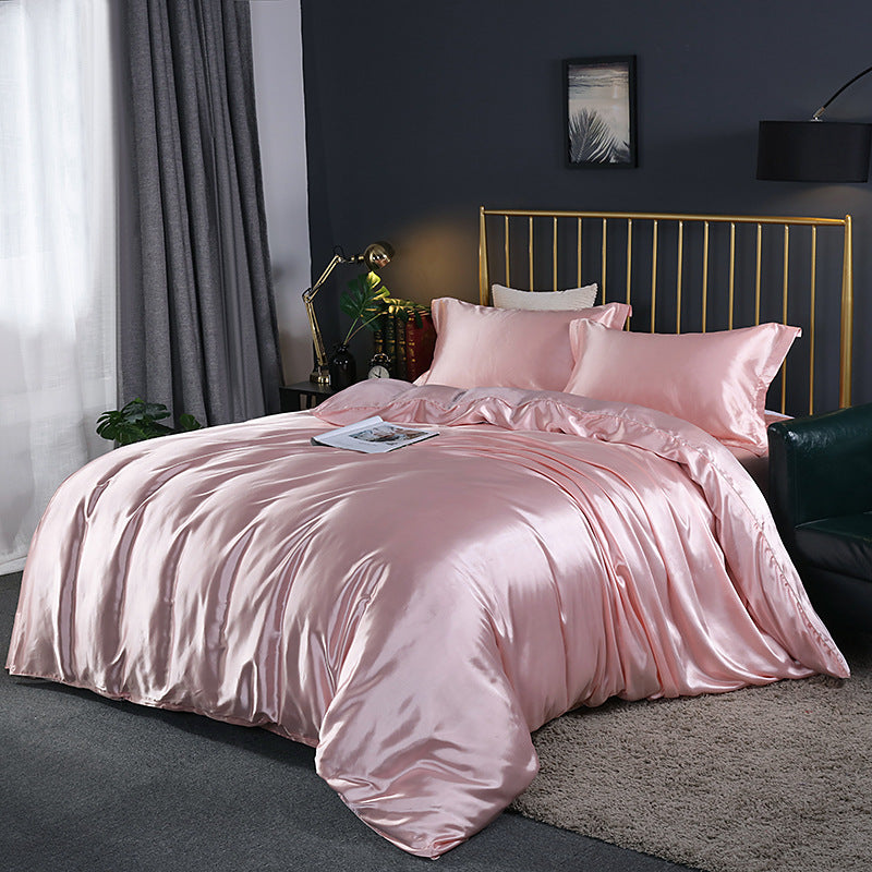 Luxury Cotton Bedding Set Bedsheet Duvet Cover