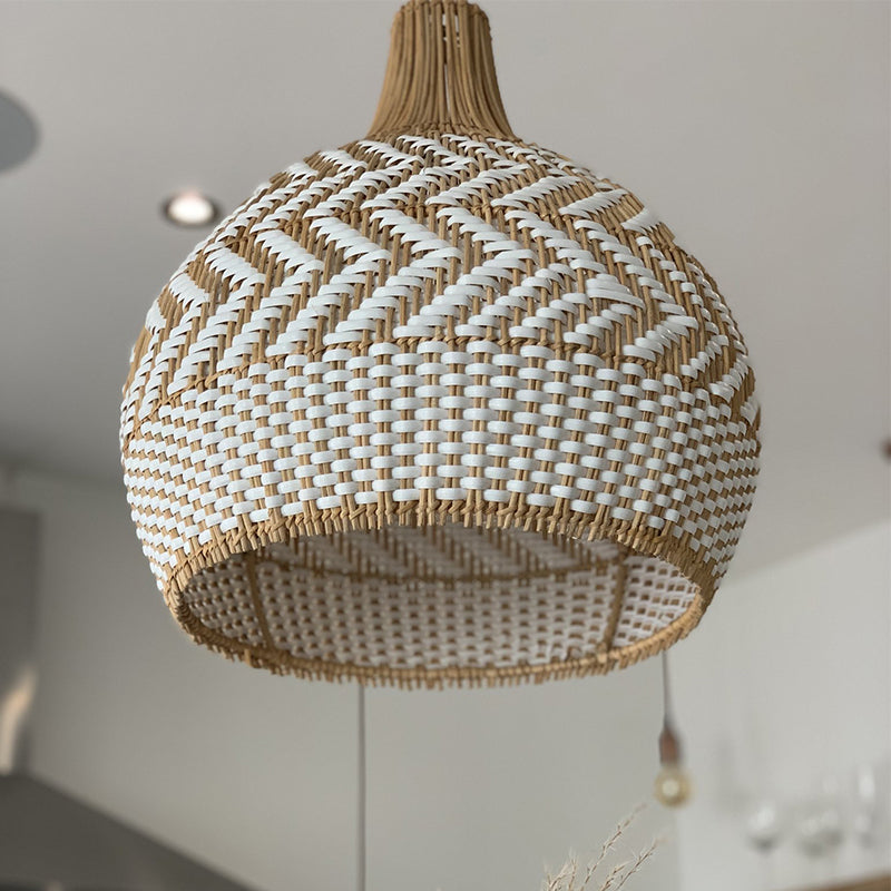 Minimalism Rattan Pendant Lampshade For Dinning Room