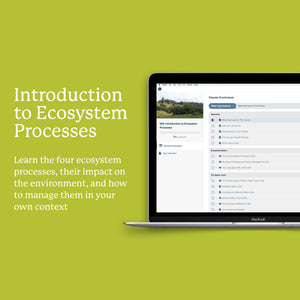 102: Introduction to Ecosystem Processes