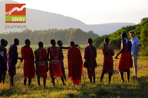 SAVORY JOURNEY:  Journey to the Wild - KENYA
