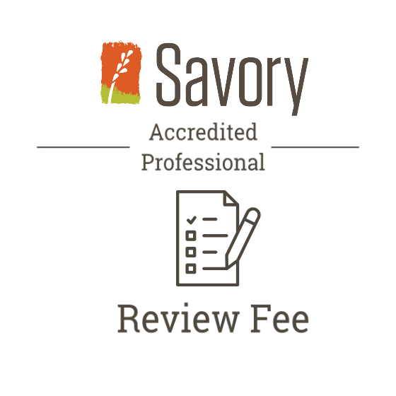 Accredited Professional Review Fee