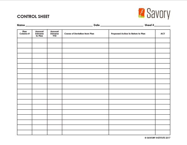 Financial Planning Forms