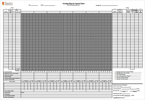 Grazing Planning Forms - Metric (Forms)