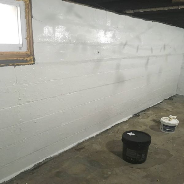 Liquid Rubber Foundation Sealant - Waterproof Leaky Basement