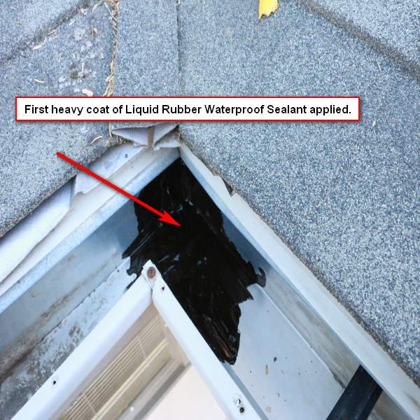 Repair Your Gutter Liquid Rubber Gutter Repair Kit