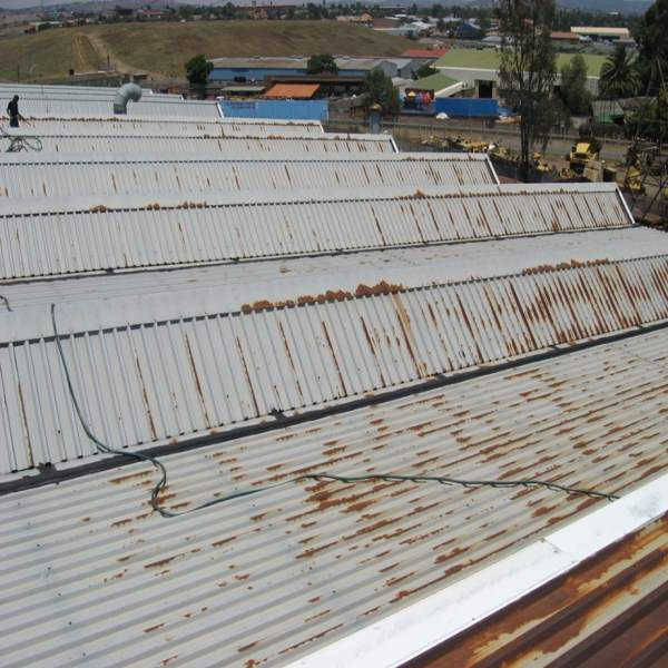 Liquid Rubber Metal Roof Application Waterproofing Roof