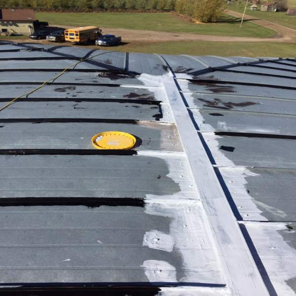Elastomeric Roof Coating On Wood?