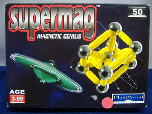 Plast Wood 0021 & 0067   2 x supermag magnetic genius   NEU & OVP