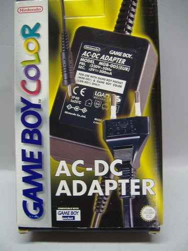 NINTENDO AC-DC ADAPTER für Game Boy Color MGB-005 NEU & OVP