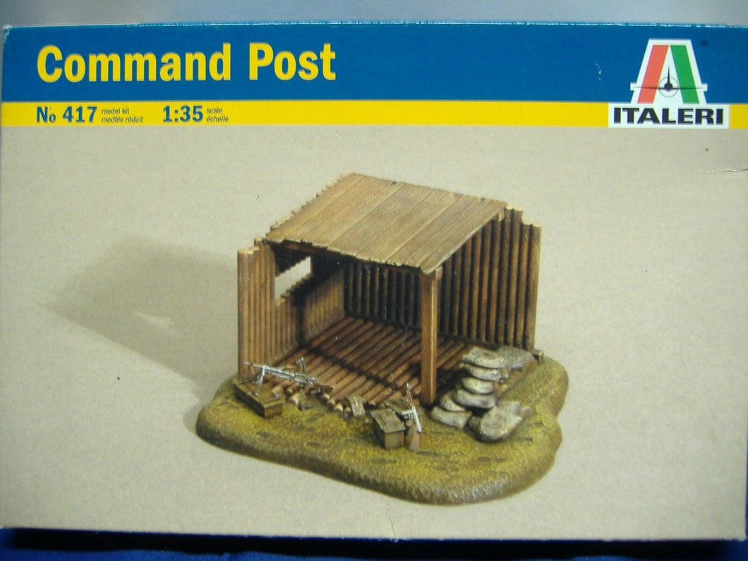 ITALERI 417 Command Post  1:35 Neu & Ovp