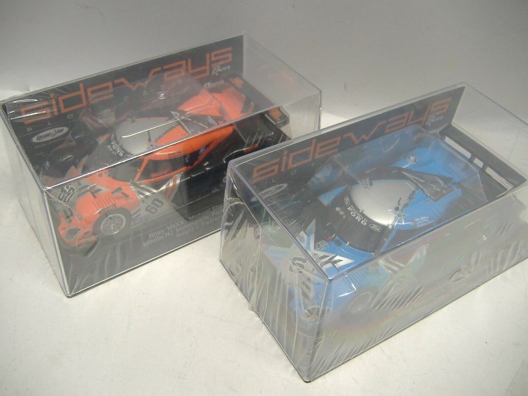 Slot it Racer Sideways Riley MkXX No. 60 & No. 6 Slotcar analog 1:32  NEU & OVP