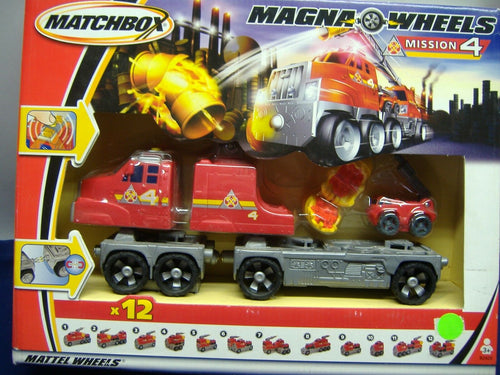 Mattel Wheels B2426 Matchbox Magna Wheels Mission 4 NEU & OVP