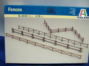 ITALERI 6141 Fences/ Zäune  model kit  Diorama 1:72 Neu & Ovp