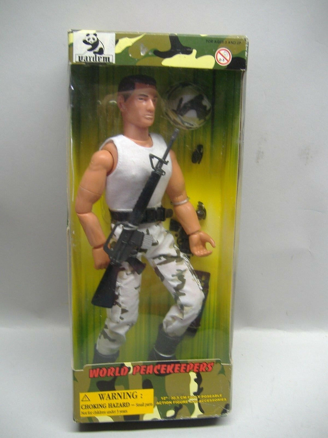 Vardem  World Peacekeeper 90000 Actionfigur  NEU & OVP