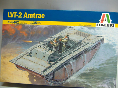 ITALERI  6462 LVT-2 Amtrac model kit 1:35 Neu & Ovp