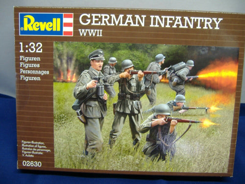 Revell 02630 GERMAN INFANTRY WWII  Figuren 1:32 Neu & OVP