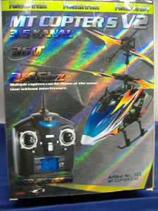 Monstertronic 103 MT COPTER S V2  2.4G  LCD Screen 3-5 Kanal  RTF NEU + OVP