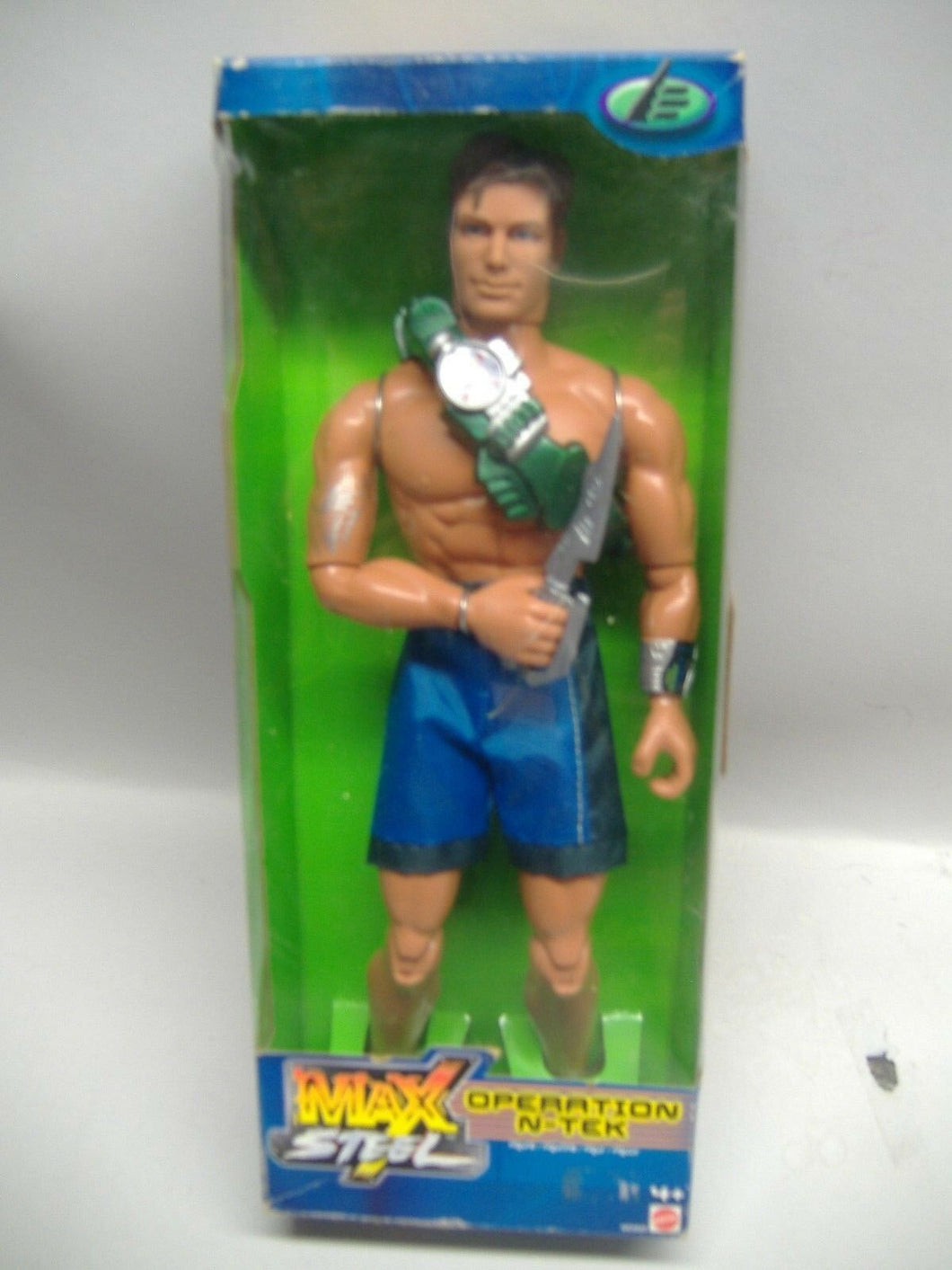 Mattel Max Steel - Operation N-TEK  NEU & OVP