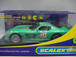 SCALEXTRIC C2738 Dogde Viper Competition Coupe Foster Motor Sp. No.17 NEU & OVP