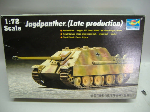 Trumpeter 07272 Jagdpanther (Lateproduction) 1:72 Neu & Ovp