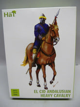 Laden Sie das Bild in den Galerie-Viewer, Hät 28019 EL CID ANDALUSIAN HEAVY CAVALRY 28mm Neu & Ovp