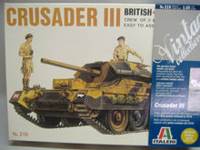 Laden Sie das Bild in den Galerie-Viewer, ITALERI  219 CRUSADER III Vintage Collection 1:35 Neu & Ovp