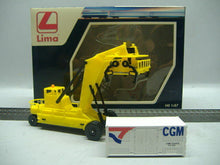 Laden Sie das Bild in den Galerie-Viewer, LIMA HL 8001 Container Fork Lift & 1x20 ft. Container H0 1:87 Neu&OVP