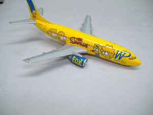 "Herpa 560238 Boing 737-300 ""The Simpsons"" 1:400 Neu & OVP"