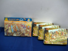 Laden Sie das Bild in den Galerie-Viewer, Italeri 6137 Late Imperial Legion & 3x Hät 8020 African Infantry 1:72 Neu & Ovp