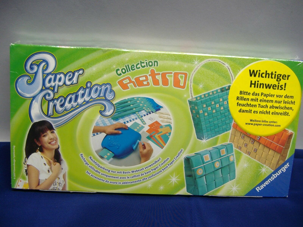 Ravensburger 18003 Paper Creation Collection Retro Nachfüllpackung NEU & OVP