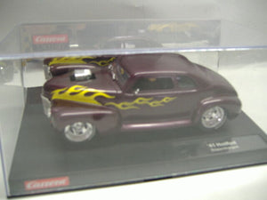 "Carrera 20224 ""41`Hot Rod Supercharged"" analoges Slotcar m. Licht 1:24 NEU & OVP"
