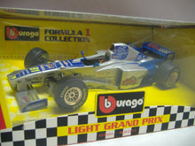 Laden Sie das Bild in den Galerie-Viewer, Burago 62011 Formel 1 Light Grand Prix 1:24 NEU & OVP