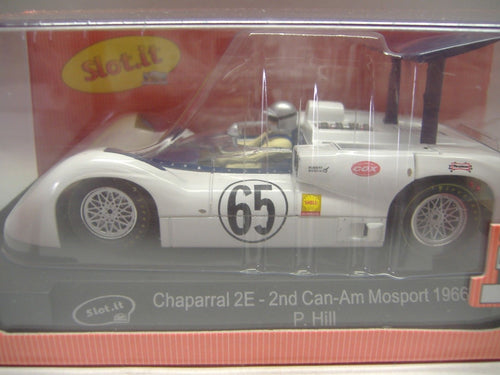 Slot.it  CA16a Chaparral 2E Can-Am-Mosport 1966 No.65 Slotcar  analog  NEU & OVP