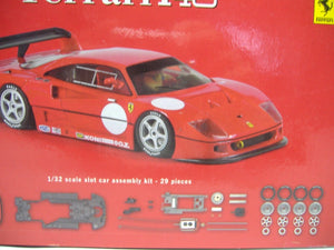 Slot.it  KF02Z  Ferrari F40 1:32 slot car assembly white kit analog NEU & OVP