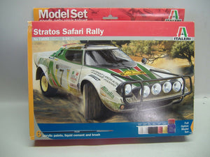 Italieri 73693 Stratos Safari Ralley Model Set 1:24 Neu & OVP