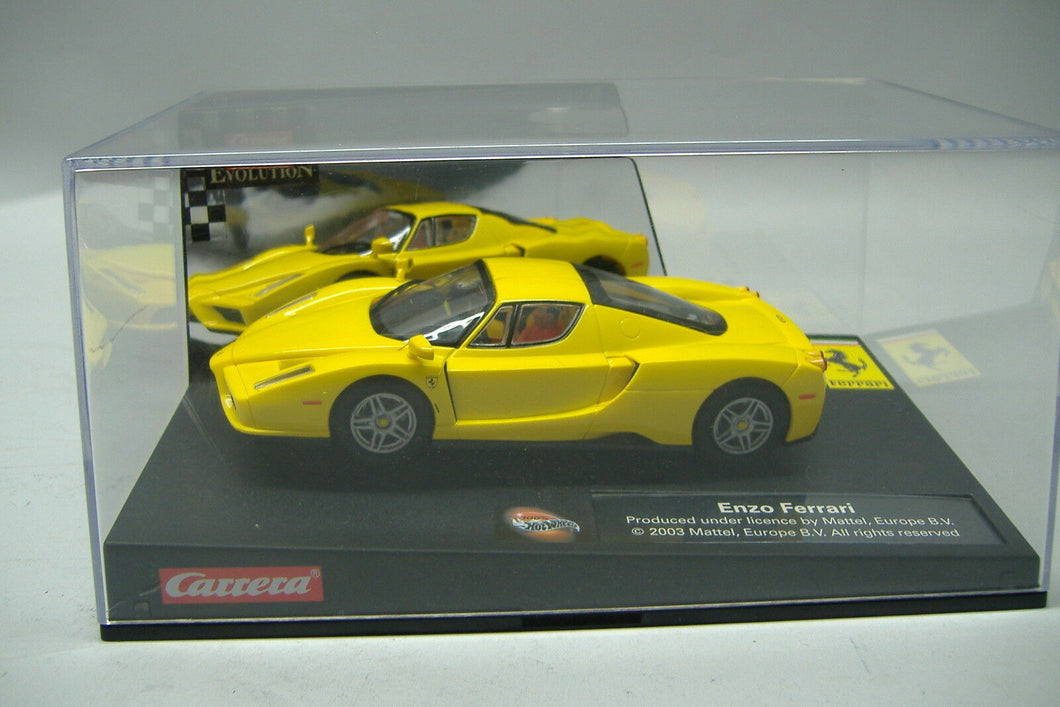 Carrera Evolution 25703 Ferrari Enzo gelb Analog 1:32 NEU & OVP