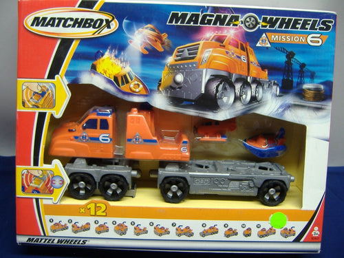 Mattel Wheels B2427 Matchbox Magna Wheels Mission 6 NEU & OVP
