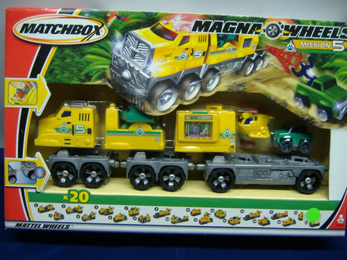 Mattel Wheels B2430 Matchbox Magna Wheels Mission 5 NEU & OVP