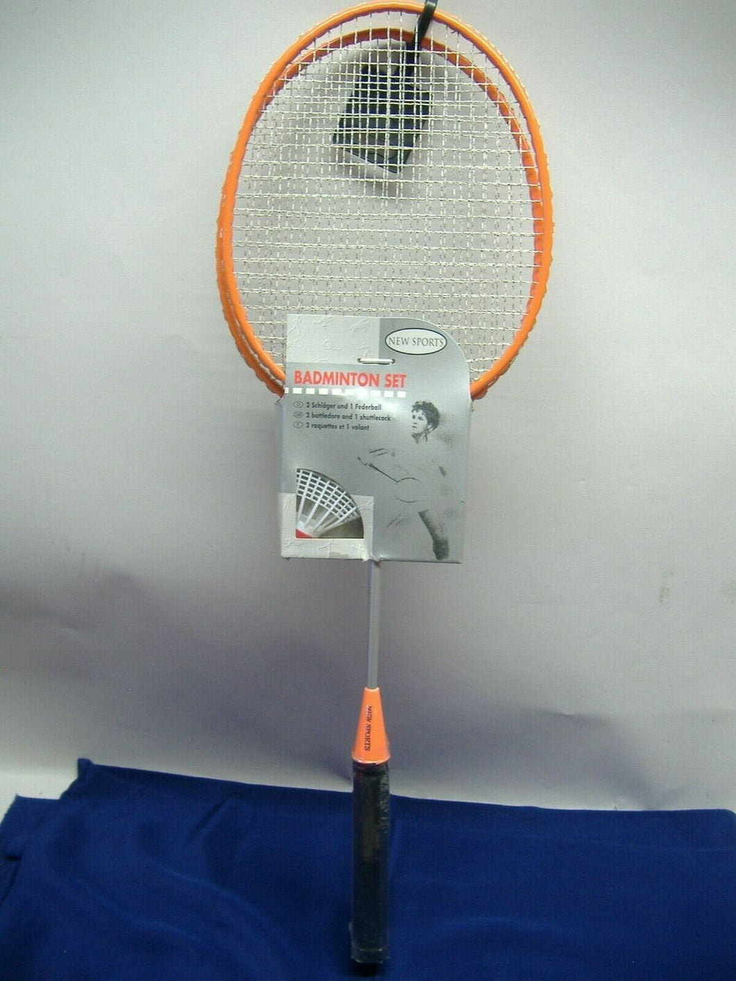 The Toy Company 7411078 New Sports  Badminton Set orange  NEU & OVP