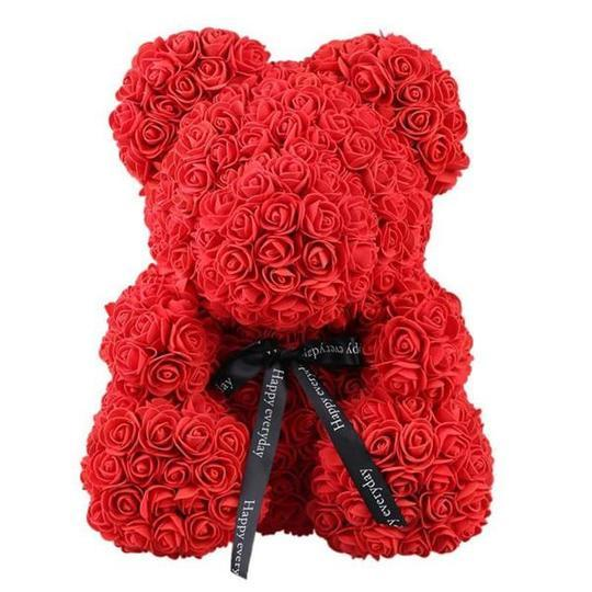 Valentine's Day Rose Bear