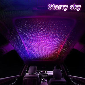 Car Star Light Lamp