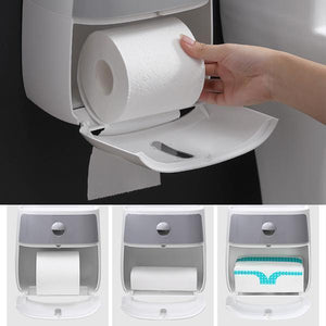 4-In-1 Multi-function Bathroom Waterproof Storage Box