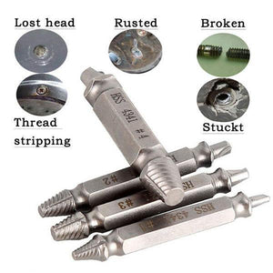 Hex Shank Screw Remover(1Set)